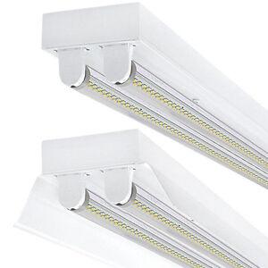 SET LED Deckenleuchten mit/ohne 2X LED T8 9W 60cm Bürolampe mit/ohne Reflektor