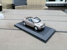 J Collection, 1/43 NISSAN  Micra  CC   on plateau Missing Left Mirror   (E1)