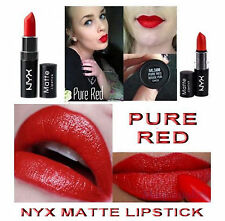 NYX MATTE LIPSTICK - PURE RED - MLS08 - BRIGHT RED ORANGE