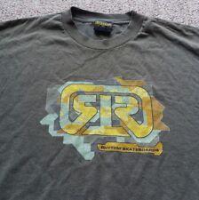 Vintage Rythym Skateboards 1990s Advertising T Shirt Retro Sidewalk Surfing XL