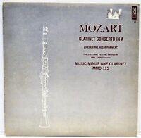 "STUTTGART FESTIVAL ORCHESTRA   ""Mozart Clarinet Concerto In A""   Vinyl LP"