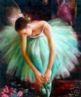 ENOPT99 100% hand-painted modern decor art oil painting  canvas-ballet girl