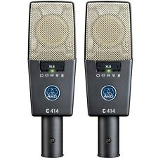 AKG C414 XLS/ST Stereo Microphone Matched Pair Set C 414NEW