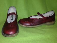 Oxblood Campers with Antiqued Finish 9-9.5 EU40