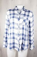 Rails Size S Hunter Plaid Long Sleeve Shirt Button Front Fall