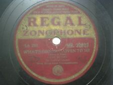 """GENE AUTRY YODLING COWBOY MR 20207 INDIA INDIAN RARE 78 RPM RECORD 10"""" PLUM VG+"""