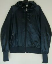 NIKE Men's Dark Green Thermore Padded Water Repellent Hooded Bomber Jacket Large