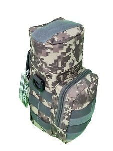 Agoz Water Bottle Carry Case Outdoor Camping Hiking Tactical MOLLE Bag Pouch