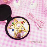 Anime Sailor Moon Crystal Moonlight Star Power Bank Portable Charger 8000 mAh