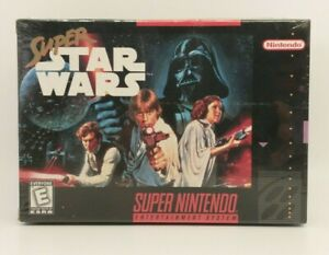 Super Star Wars (Super Nintendo SNES) Brand New, Factory Sealed