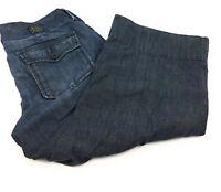 Lucky Brand Trouser Capri Crop Low Rise 100% Cotton Pants Women's 6/28