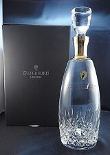 Waterford Crystal Lismore Essence Gold Decanter with Stopper  NEW