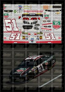 NASCAR 1/24 DECALS AD02 - AUSTIN DILLON 2013 CUP #51 TAG HEUER CHEVY SS