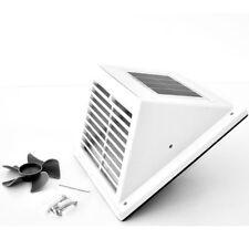 Solar Ventilation Fan White (1,2W/2V, air delivery 65m³/h, blade diameter 96 mm)