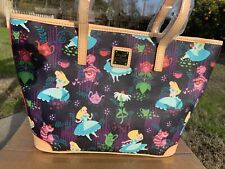New ListingNwt Disney Dooney & Bourke Alice In Wonderland Tote Purse Rare