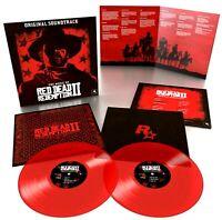 Red Dead Redemption II LP [ Red Color Vinyl ] LP Record Album Soundtrack / 2