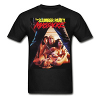 The Slumber Party Massacre T-Shirt retro 1980s horror movie graphic tee vintage