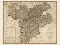 Alte Weltkarte Appleton ca 1892 Papier//Leinwand