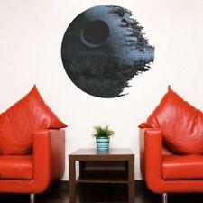 Étoile de la Mort Star Wars Autocollant Mural Amovible PVC Salle à Manger