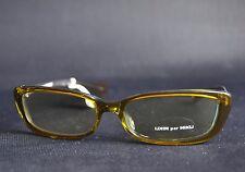 Vintage Alain Mikli Brille Sun Glasses Frame NOS transparent grün
