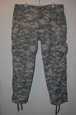 CAMOUFLAGE Army Combat Uniform ACU RIPSTOP Trouser/Pants LARGE-SHORT Digital#LS2