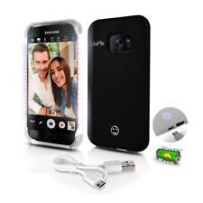 Lite-Me Selfie Lighted Smart Case, Built-in Power Bank & LED Lights (SL301S7BK)