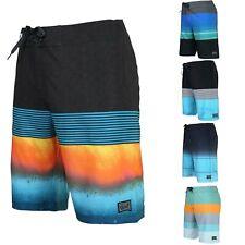 Men's Teen's Swimwear Board Shorts 32 Size Casual Submersible Swim Trunks Blue