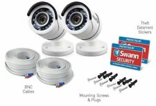 2 x Swann PRO-T853 2.1 Mp 1080p Professional  HD bullet Security Camera RRP $289