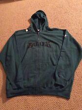 Philadelphia Eagles Green Zip-up Sweatshirt size XL NWT