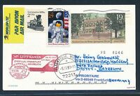 67493) LH / AA  FF Frankfurt - Bayreuth 26.10.98 DASH 8, GA USA space