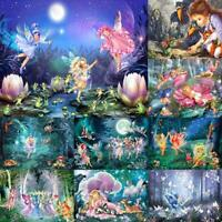 5D DIY Full Drill Diamond Painting Fairy Cross Stitch Embroidery Wall Art