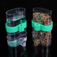 Automatic Plastic Bird Feeder Bird Cage Water Drinker For Finch Canary Budgie