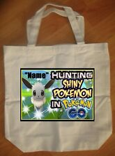 """Pokemon Go"" Personalized Tote Bag - NEW"