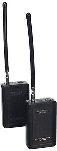 Saramonic SR-WM4C Professional 4-Channel VHF Wireless Microphone Set (Red/Black)