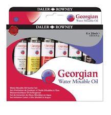 Daler ROWNEY GEORGIAN mixer composée de l'eau huile couleur starter set 6 x 20ml