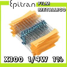 Resistor kit set resistenze resistenza resistori 1/4 W di precisione 30 valori