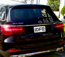 IDFR Benz GLC X253 SUV 2015~on GLC250 / 300 / 350 Chrome panel for trunk 3PC