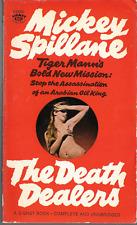 Mickey Spillane: The Death Dealers Tiger Mann Thriller PB 1st Print 1966 Signet