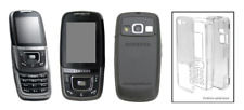 Carcasa Cristal Transparente (Protector Duro) ~ Samsung (Sgh) D600