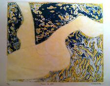 Barbara Kwasniewska : Gravure originale, Signée et Numérotée au crayon