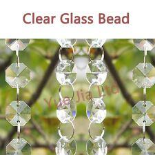 1.8 meter Crystal Clear Glass Bead Garland Chandelier Hanging wedding supplies
