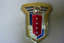 1954 1955 Mercury Hood Crest Emblem NEW SHOW CONDITION 54 55