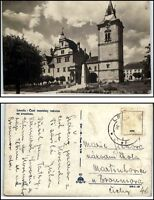Levoča Slowakei Postkarte Ansichtskarte um 1950 Vintage Postcard Bedarfspost-AK