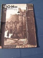 le P.O. 1937 51 exposition internationale PARcAY MESLAY PANZOULT BELLEGARDE MASS