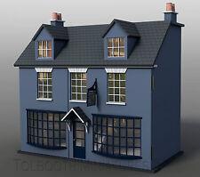 Tienda de antigüedades Casa de Muñecas Escala 1:12 - Coleccionable sin pintar KIT de Casa de Muñecas