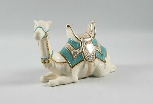 Lenox Nativity First Blessings Camel Laying Down Figurine Turquoise Saddle