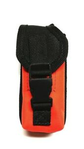 Custom Made Orange Carry Case for Garmin Astro 320 / 430 & Allpha 100 Handheld
