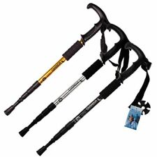 Nordic Adjustable Hiking Stick 50-110cm Telescopic Anti Shock Walking Sticks