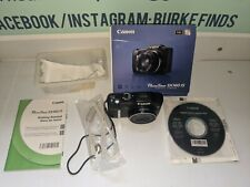 Canon PowerShot SX160 IS 16 MP Digital Camera Image Black tested works