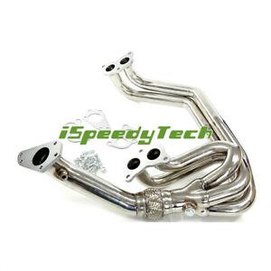 Exhaust Manifold Header & Up Pipe For Subaru Impreza Classic GC8 NewAge 2.0 96-